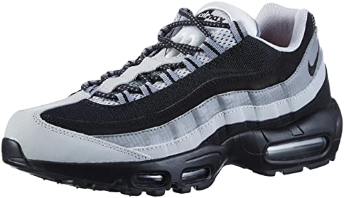 6a0cd03bf2 Nike Air Max 95 Essential 749766-005 Black/Wolf Grey Men's Running Shoes (