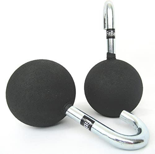 FitBar Ball Grips Cannonball Grips Pull Up Bar Grips Grip Strength Trainer for Ninja Warriors, OCR Athletes, and Gym Rats