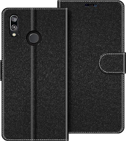 COODIO Custodia per Huawei P20 Lite, Custodia in Pelle Huawei P20 Lite, Cover a Libro Huawei P20 Lite Magnetica Portafoglio per Huawei P20 Lite Cover, ...