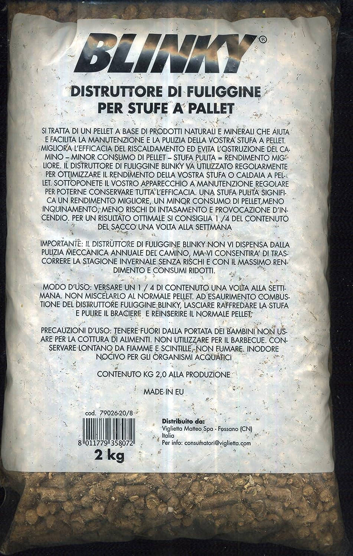 Deshollinador para estufas de pellets, paquete de 2 kg: Amazon.es: Bricolaje y herramientas