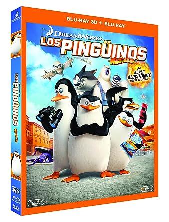 Los Pinguinos De Madagascar Blu Ray 3d Blu Ray Amazon Es Animación Eric Darnell Simon J Smith Animación Jennifer Dahlman Eric Darnell Tripp Hudson Christopher Leahy Tom Mcgrath Mireille Soria Cine Y Series Tv