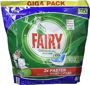 Fairy All in One - Cápsulas para lavavajillas, 100 unidades ...