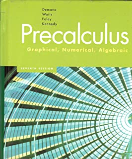 Student solutions manual for precalculus graphical numerical precalculus graphical numerical algebraic fandeluxe Images