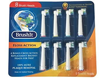 Amazon.com  Toothbrush Replacement Heads Refill for Oral-B Electric ... 02cf1046a0c08