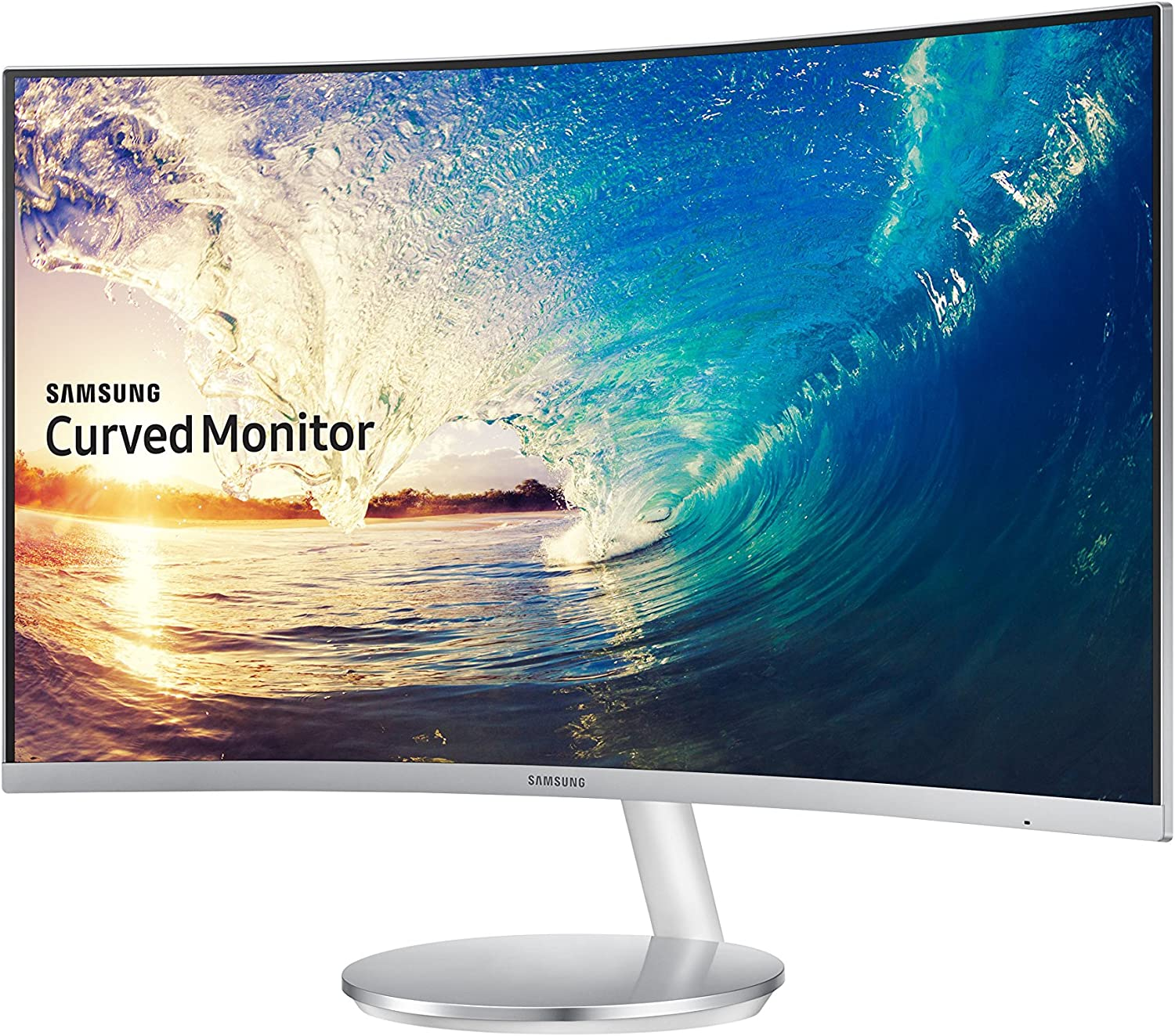 Samsung IT LC27F591FDNXZA - best curved monitor with speakers