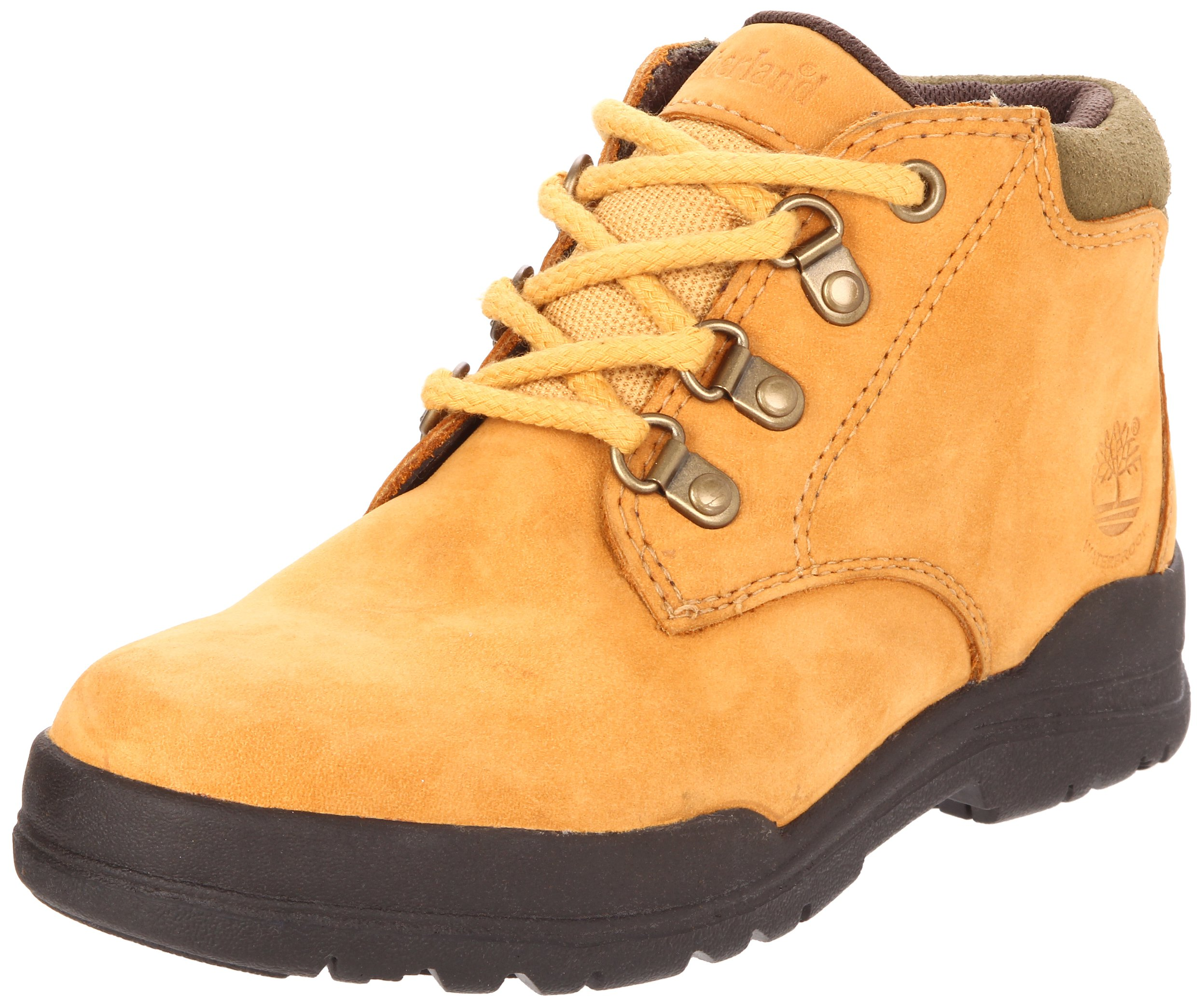Timberland Plain Toe Bush Boot (Toddler/Little Kid/Big Kid),Wheat,12.5 M US Little KId by Timberland