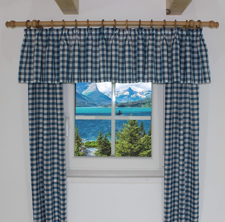 Wirth Vorhang Polyacryl Rot 145 x 115 cm cm cm 2-Einheiten B00CKTGRGU Vorhnge ca2742