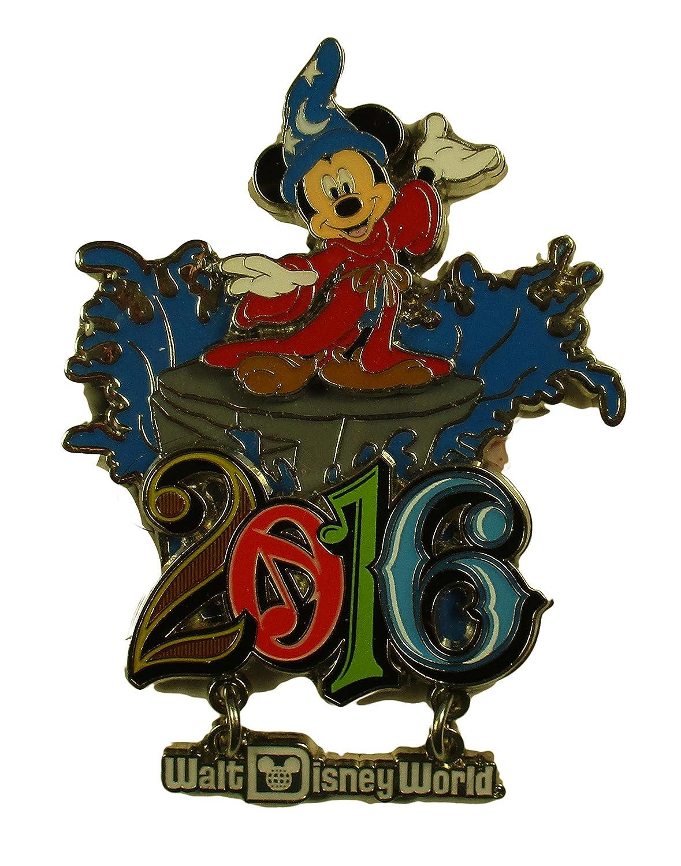Disney Parks - 2016 Sorcerer Mickey Refrigerator Magnet Dangle
