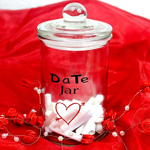 Personalised Couples Date Jar Idea Wedding Valentine S Day P Amazon Co Uk Handmade
