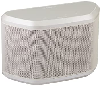 Yamaha WX-030WH MusicCast Wireless Speaker with Wi-Fi and Bluetooth  (White), Works with Alexa