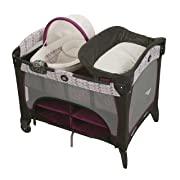 Graco Pack 'N Play Playard with Newborn Napperstation DLX, Nyssa