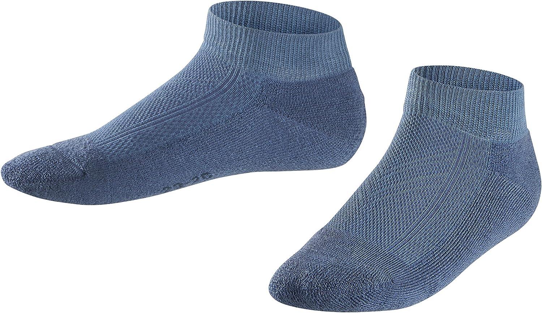 UK sizes 6 1 Pair EU 23-42 kid - 8 FALKE Kids Leisure Trainer Socks Cotton Blend easy care Multiple Colours Skin-friendly