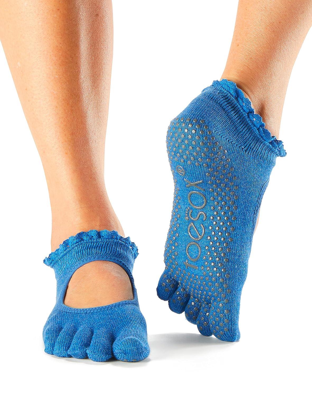 Calcetines de dedos ToeSox Bella para yoga, pilates, baile y artes marciales