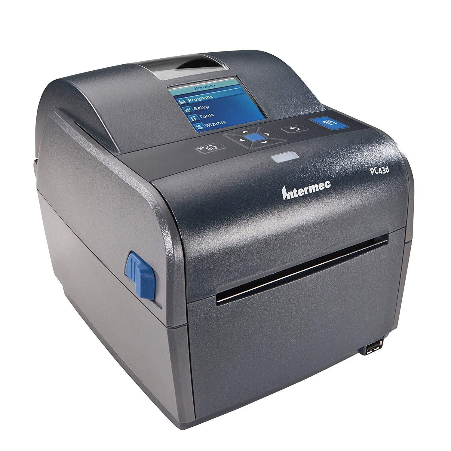 Honeywell PC43d Desktop Direct Thermal Label Printer with LCD Display and USB, Easy-to-Use Barcode Label Printer