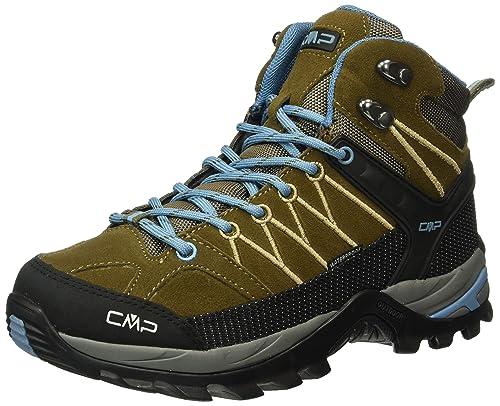 CMP Women's Rigel Low Trekking and Walking Shoes Brown Size: 4