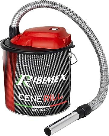 Ribimex PRCEN001, Cenerill Aspiradoras de cenizas 1000 W, 18 L con ...