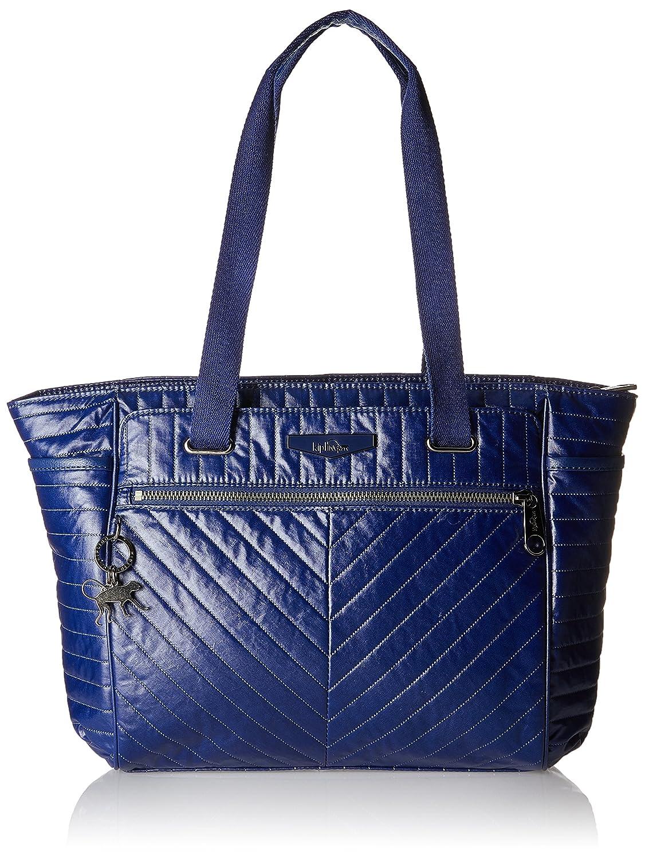 f425bbc878 Kipling Orinthia - Borse Tote Donna, Blau (Shiny Blue), 43x27x0.1 cm (B x H  T): Amazon.it: Scarpe e borse