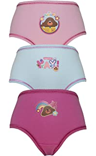 4 Years Cartoon Character Products Pack of 2 CBeebies Hey Duggee Girls Vests Various Designs 18 Months