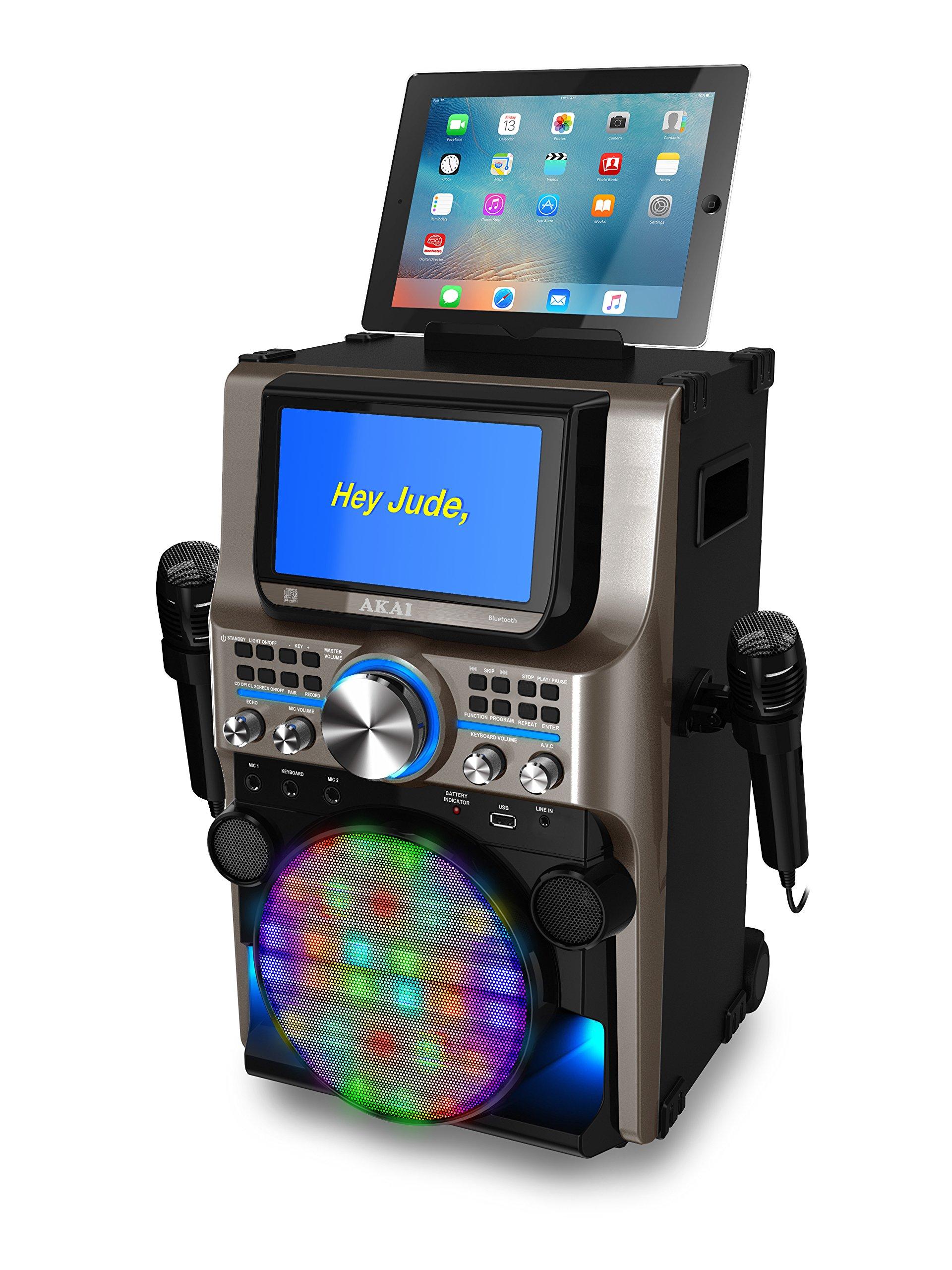 Akai KS838-BT The Ultimate Bluetooth Party Machine, 7'' by Akai (Image #2)