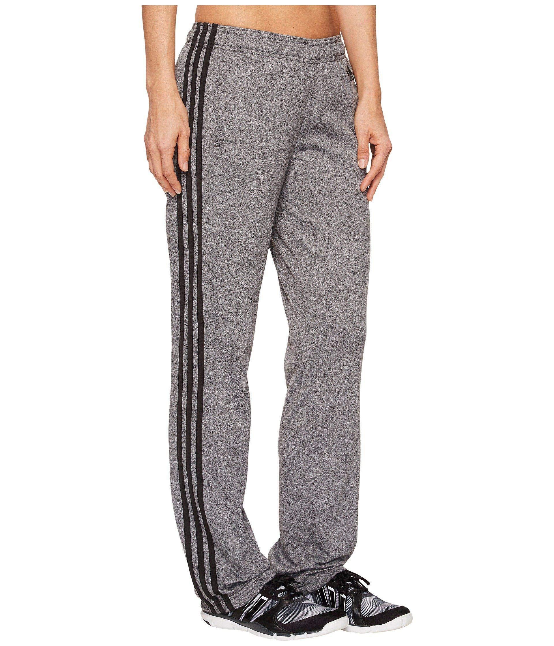 adidas Women's Designed-2-Move Straight Pants Dark Grey Heather/Black X-Small 29 29