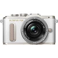 Olympus E-PL8 Fotocamera con Obbiettivo 14-42 mm, Bianco