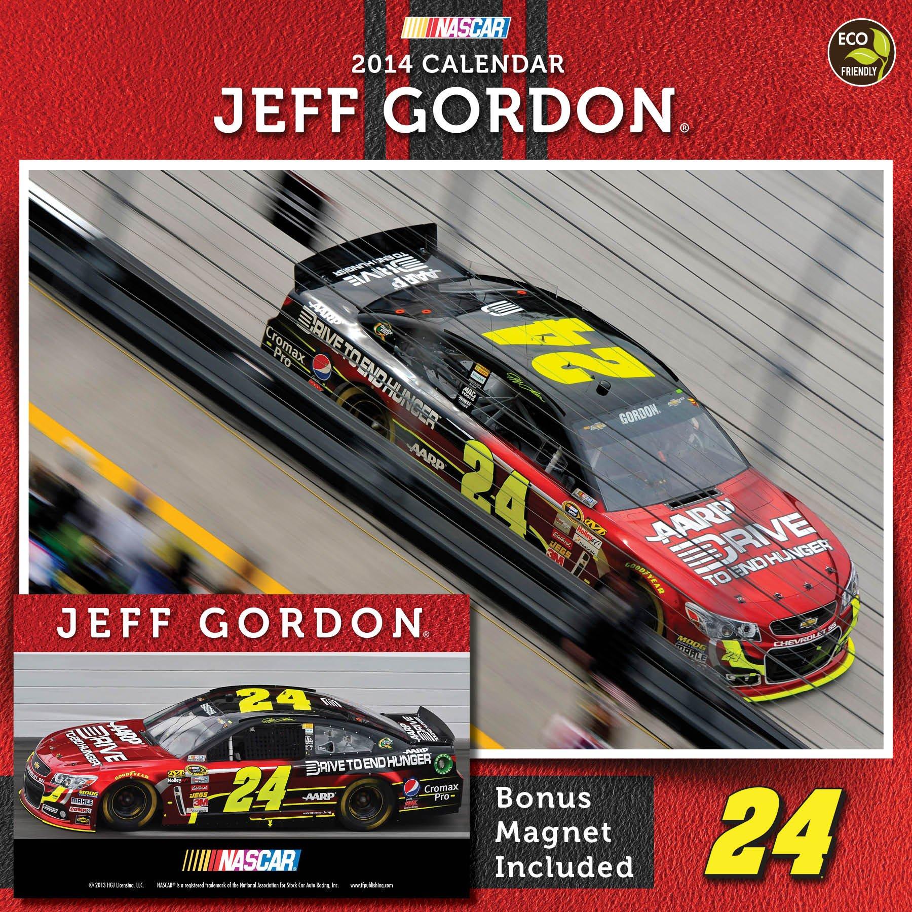 Read Online 2014 Jeff Gordon Deluxe Wall Calendar PDF