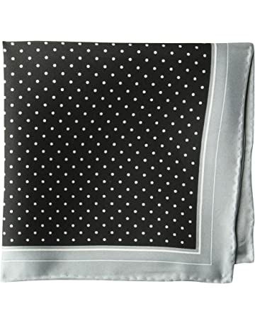 2b827a8709f52 Amazon Brand - BUTTONED DOWN Men's Classic Silk Hand Rolled Pocket Square