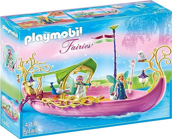 PLAYMOBIL Hadas - Barco de la Reina de Las Hadas (5445)