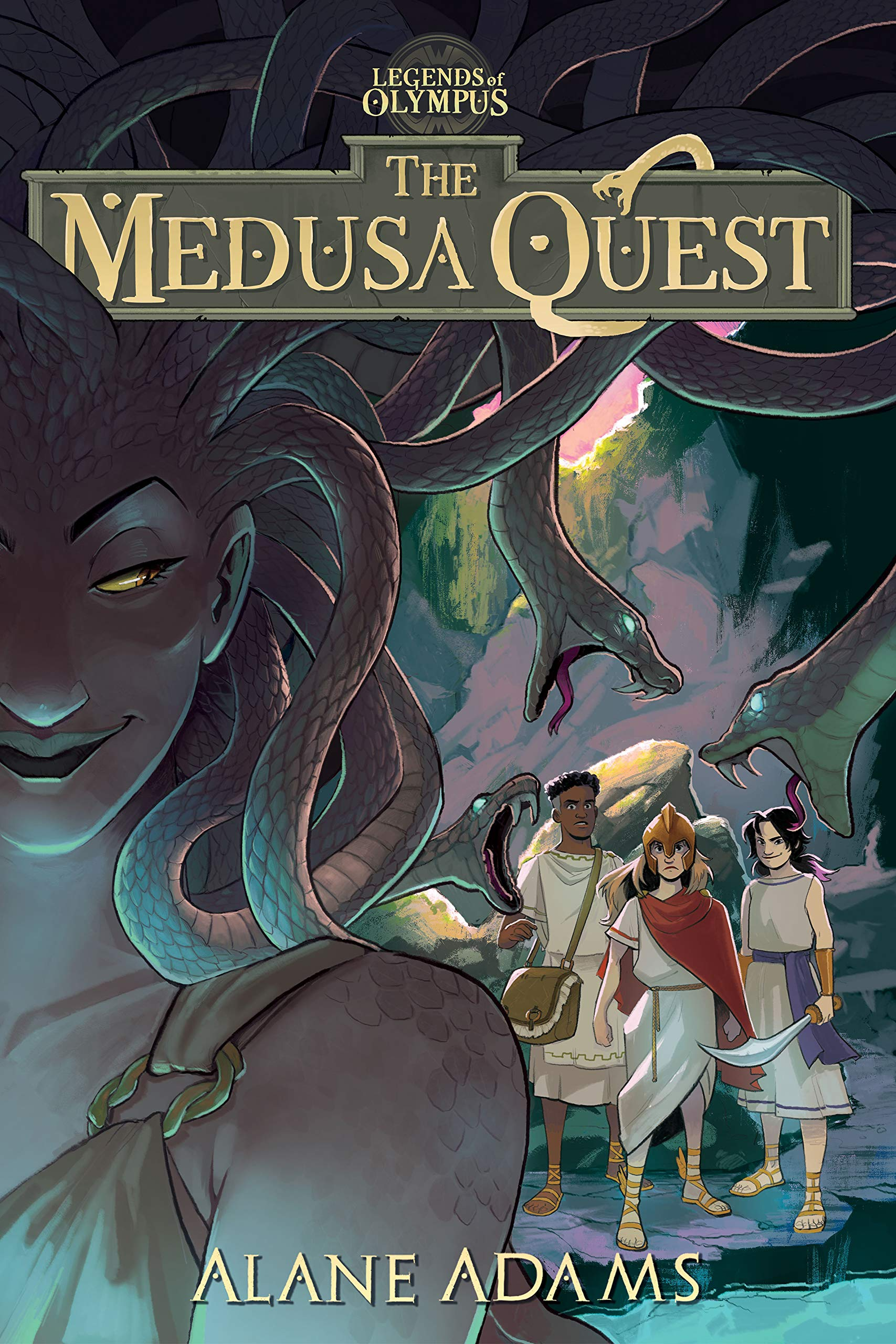 The Medusa Quest: The Legends of Olympus, Book 2 (The Legends of Oympus,  2): Adams, Alane: 9781684630752: Amazon.com: Books