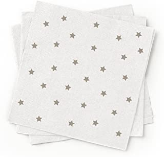 Susty Party 100-Percent Recycled Paper Cocktail Napkin Grey 200-Pack  sc 1 st  Amazon.com & Amazon.com: Susty Party 6-Inch Compostable Square Plates 50-Count ...