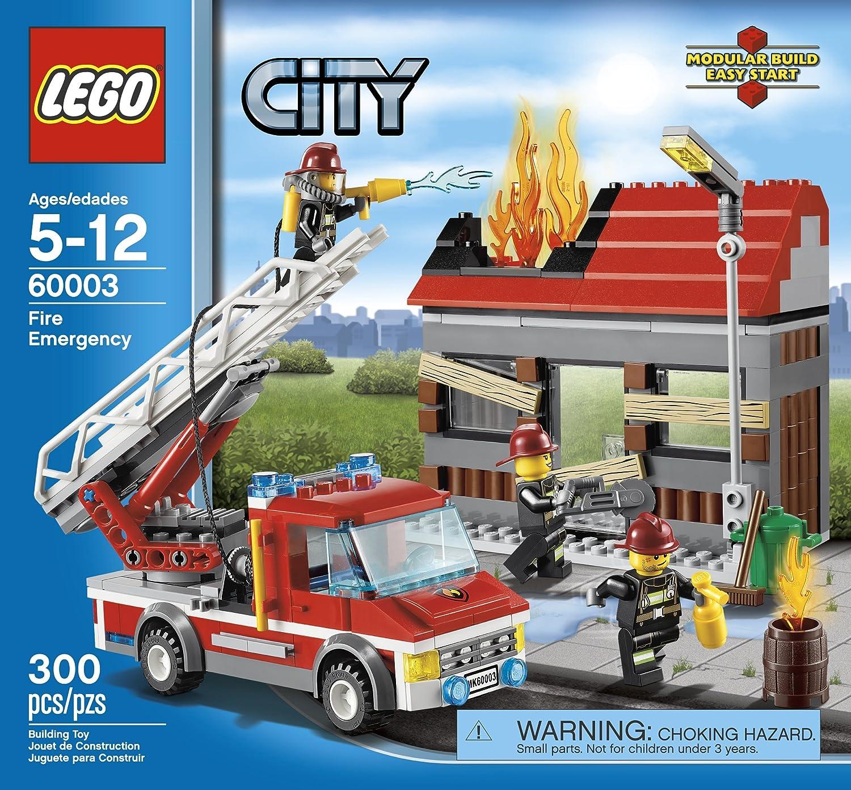 Amazon Lego City Fire Emergency 60003 Toys Games
