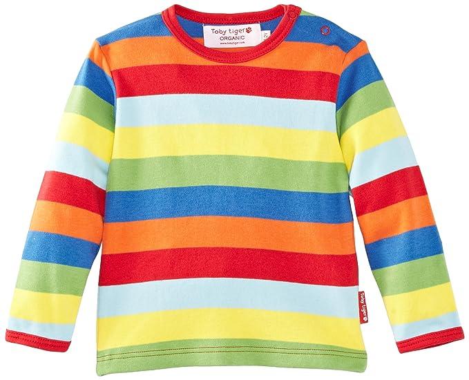 3b9d87a3b Toby Tiger - Camiseta a Rayas para niño