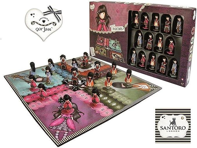 GORJUSS - Parchís, Juego de Mesa (United Labels Iberica 812758): Amazon.es: Juguetes y juegos