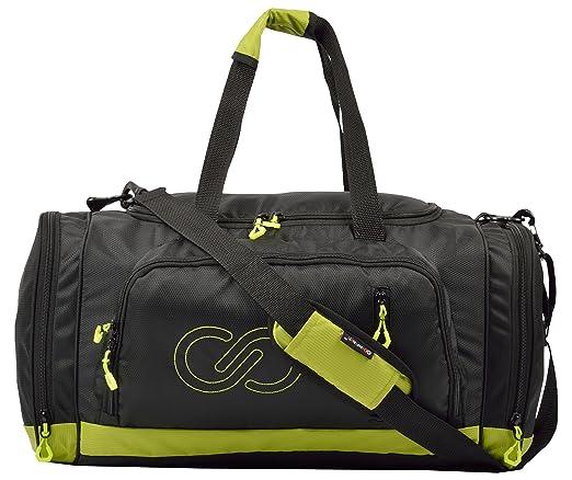 Infiniti Classic Travel Duffel Bag  Black  amp; Green  Travel Duffels