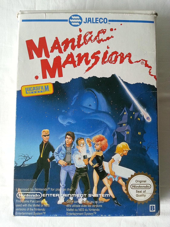 Amazon.com: Maniac Mansion - Nintendo NES: Video Games