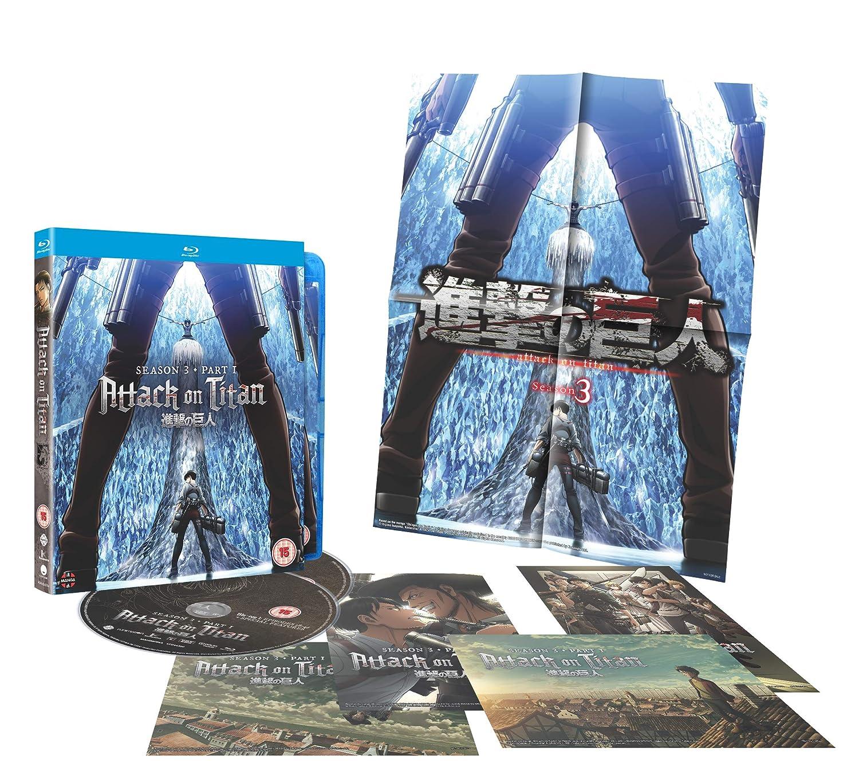 Amazon com: Attack on Titan: Season Three Part One