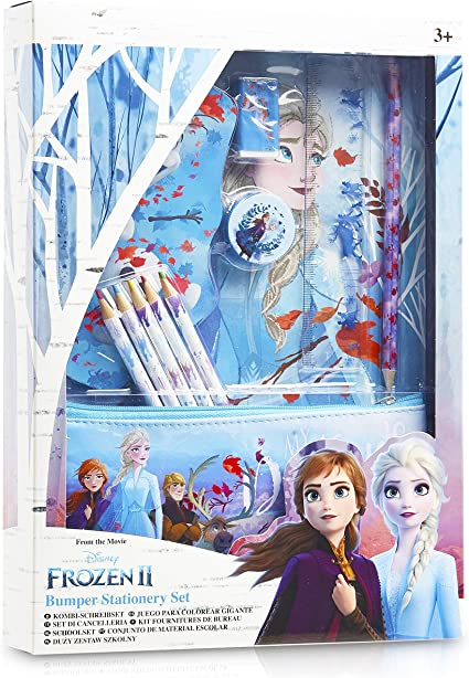 Disney Frozen Colored Pencils Princess Elsa Anna Kids Children Child Girls Gift Kids Teens At Home School Supplies