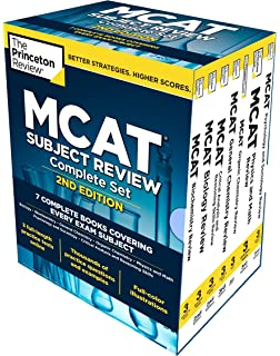 Mcat complete 7 book subject review 2018 2019 online book kaplan princeton review mcat subject review complete box set 2nd edition 7 complete books fandeluxe Image collections