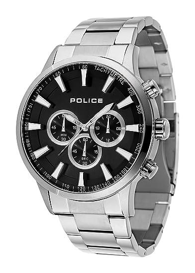 Reloj Police - Hombre 15000JS 02M  Police  Amazon.es  Relojes 945a15d710e