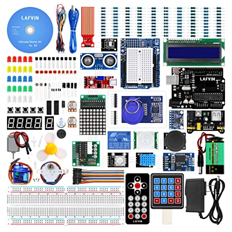 Amazon com: LAFVIN for UNO Ultimate Starter kit for Arduino
