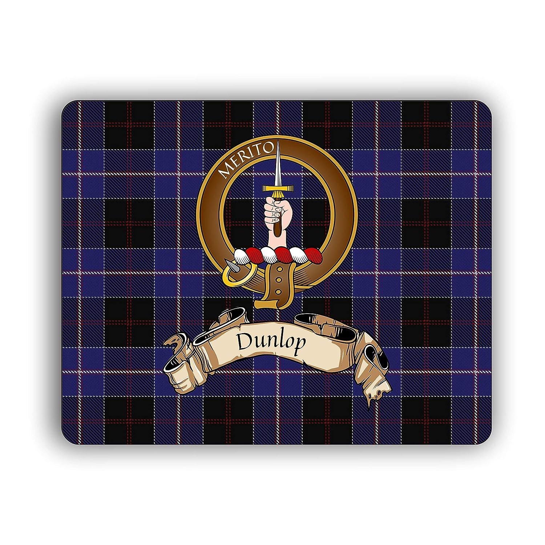 Dunlop Scottish Clan Mug Tartan Crest Motto 11oz Mug