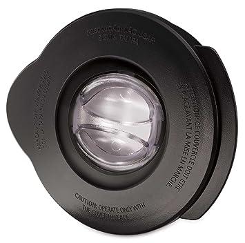 Oster BLSTAL-B00-050 - Tapa batidora de vaso Oster (negra redonda y tapón de llenado redondo): Amazon.es: Hogar