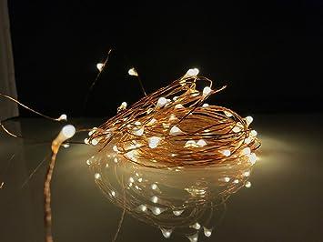 Amazon usb fairy string lights led 33ft 100 led indoor usb fairy string lights led 33ft 100 led indoor outdoor warm white firefly starry aloadofball Choice Image