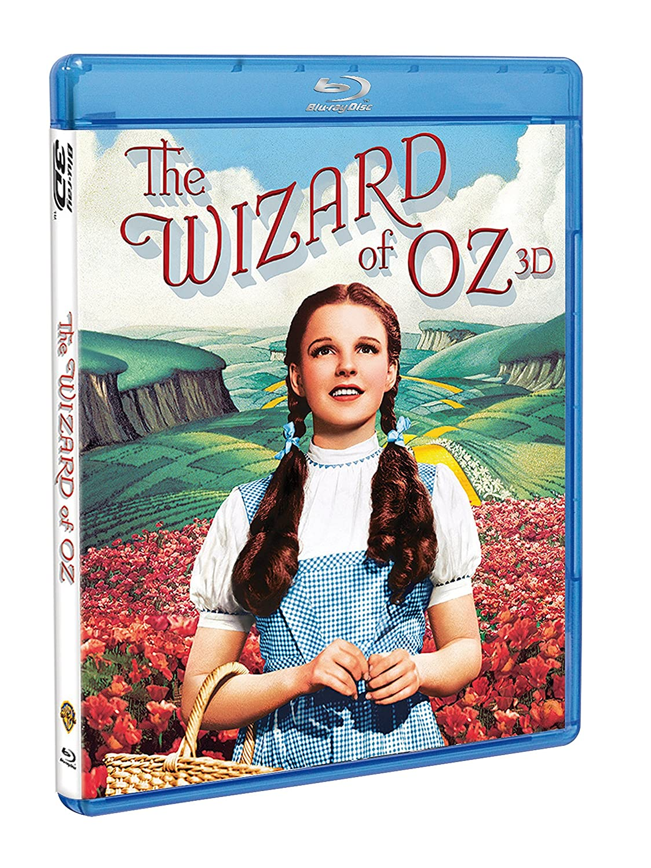 The Wizard of Oz - 75th Anniversary Edition [Blu-ray 3D + Blu-ray] Judy Garland Frank Morgan Jack Haley Billy Burke