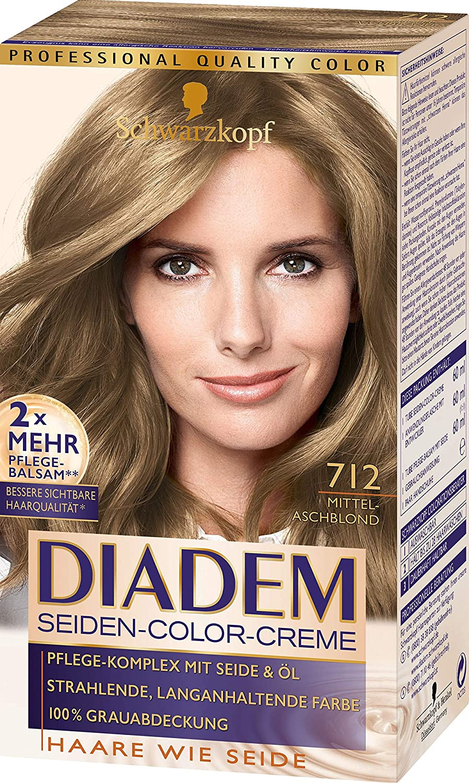 Schwarzkopf Diadem 712 - Tinte para el pelo, color rubio ...