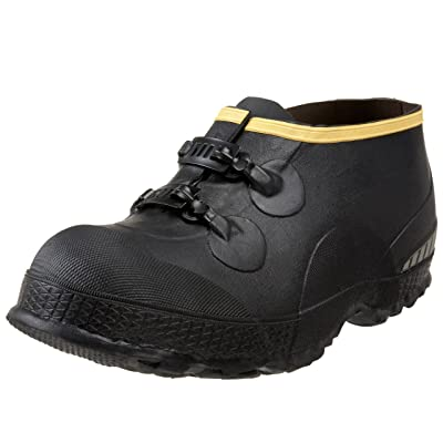 "LaCrosse Men's 5"" Premium Two-Buckle Overshoe, Black, 15 M US 