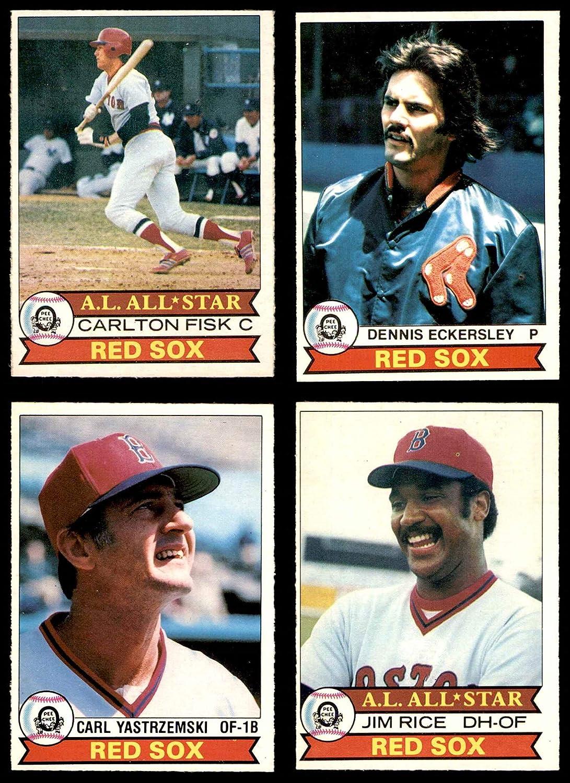 1979 O-Pee-Chee Boston Red Sox Near Team Set Boston Red Sox (Baseball Set) Dean's Cards 5.5 - EX+ Red Sox 91Vg2BYq6bgL