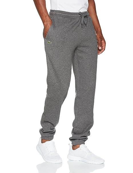 Pantalones Deportivos para Hombre, Gris (Bitume), XXX-Large (Talla del fabricante: 8) Lacoste