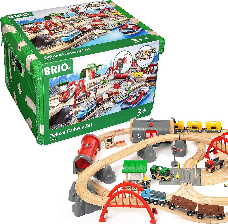 BRIO World Deluxe Railway Set, multicolor