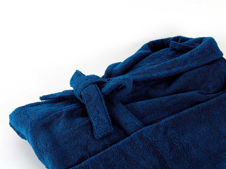 blu disponibile in 6 colori Dyckhoff Accappatoio in spugna con colletto ampio da uomo e donna 5 taglie
